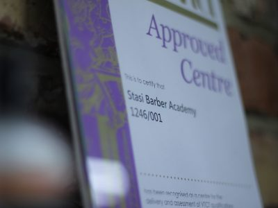 Approved barber training centre